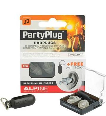 Ørepropper Musik - Alpine partyplugs ørepropper