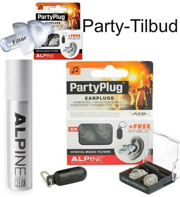 Ørepropper Musik - Alpine Partyplugs - Party Tilbud