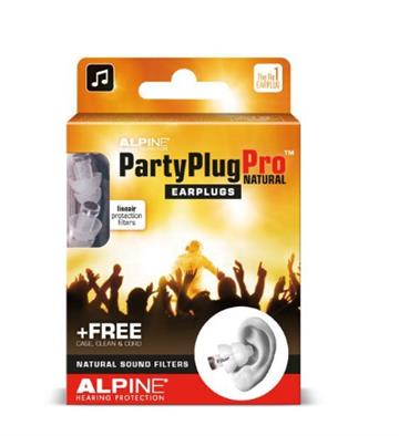 Ørepropper Musik - Alpine Partyplugs Pro Ørepropper